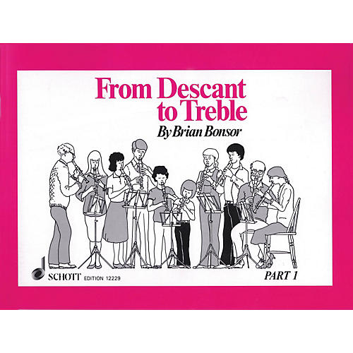 Schott From Descant to Treble - Part 1 (for Treble Recorder) Schott Series Softcover-thumbnail