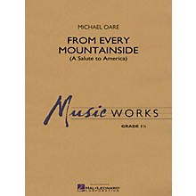 Hal Leonard From Every Mountainside (A Salute to America) Concert Band Level 1.5 Composed by Michael Oare