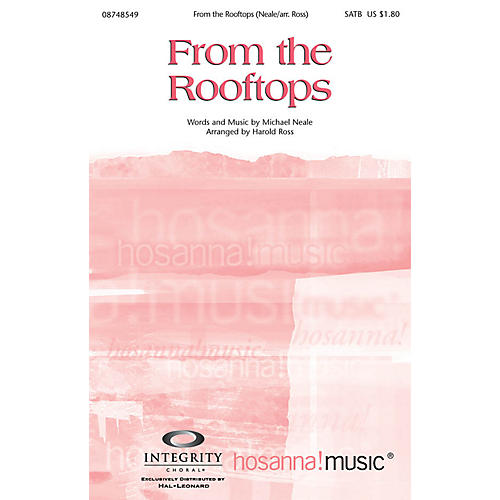 Integrity Choral From the Rooftops Orchestra by Michael Neale Arranged by Harold Ross-thumbnail