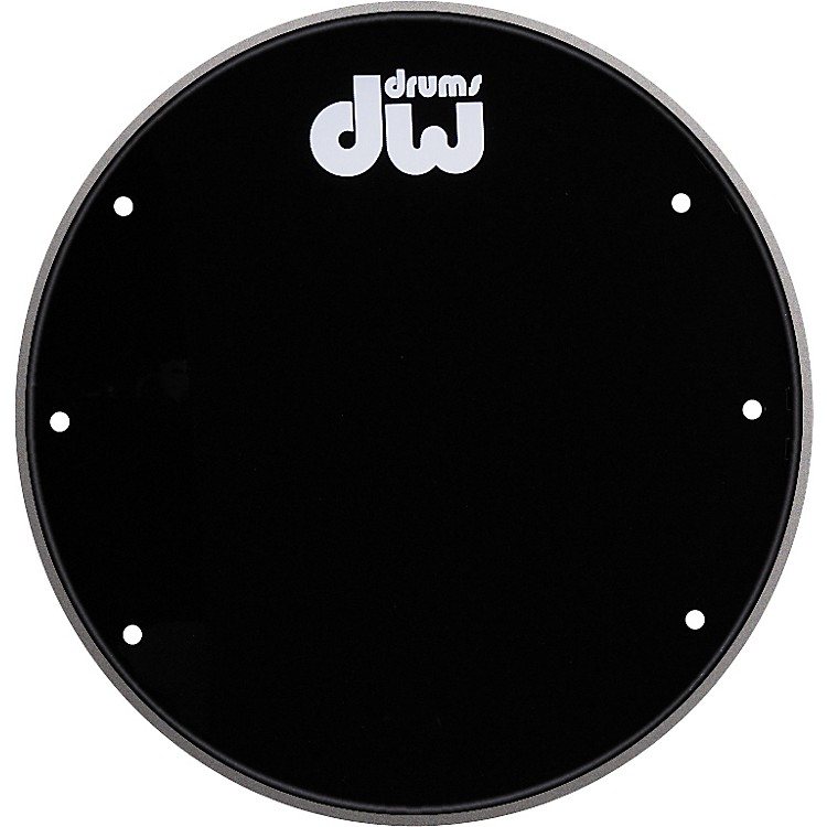 DW Front Ported Bass Drumhead with Logo  20 Inch