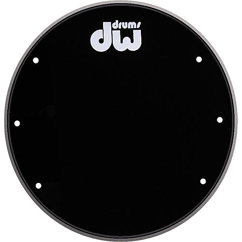 DW Front Ported Bass Drumhead with Logo  24 in.