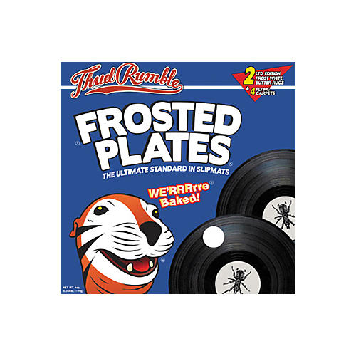 Thud Rumble Frosted Plates Slipmat Pack