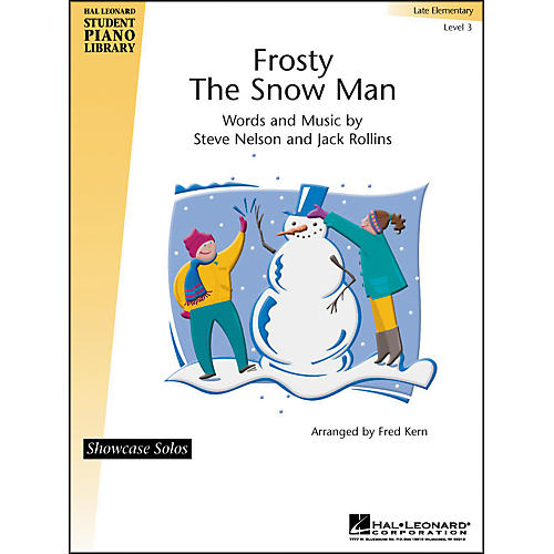 Hal Leonard Frosty The Snow Man Late Elementary Level 3 Showcase Solos Hal Leonard Student Piano Library by Fred Kern-thumbnail
