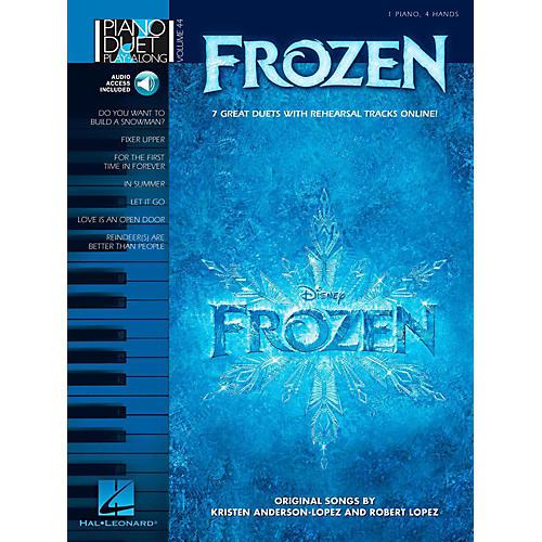 Hal Leonard Frozen - Piano Duet Play-Along Volume 44 Book w/ Online Audio-thumbnail