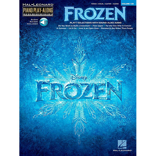 Hal Leonard Frozen - Piano Play-Along Volume 128 Book/Online Audio