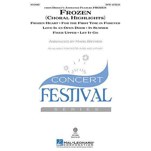 Hal Leonard Frozen (Choral Highlights) 2-Part Arranged by Mark Brymer