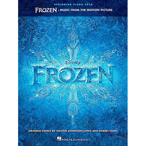 Hal Leonard Frozen: Music From The Motion Picture For Beginning Piano Solo-thumbnail