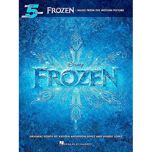 Hal Leonard Frozen: Music From The Motion Picture For Five-Finger Piano