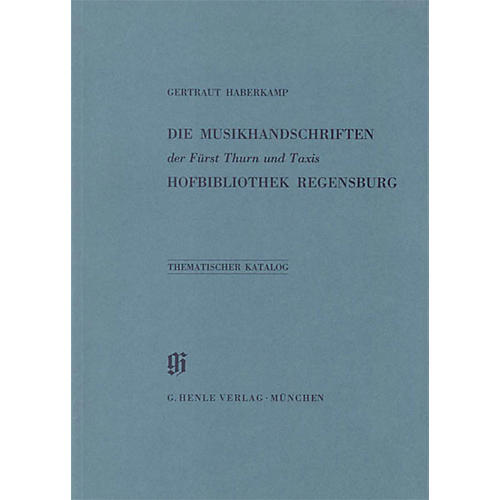 G. Henle Verlag Fürst Thurn und Taxis Hofbibliothek in Regensburg Henle Books Series Softcover-thumbnail