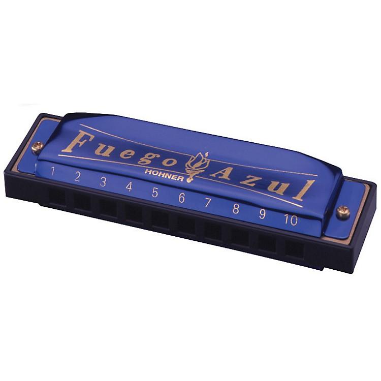 HohnerFuego Azul Harmonica Key of CC