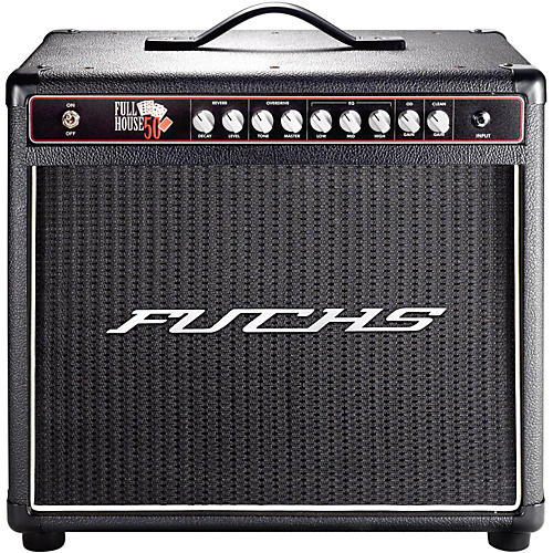 Fuchs Full House 50W Tube Guitar Combo Mini-Amp and 4-Button Artist Footswitch Kit