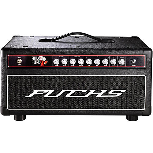 Fuchs Full House 50W Tube Guitar Head and 4-Button Artist Footswitch Kit
