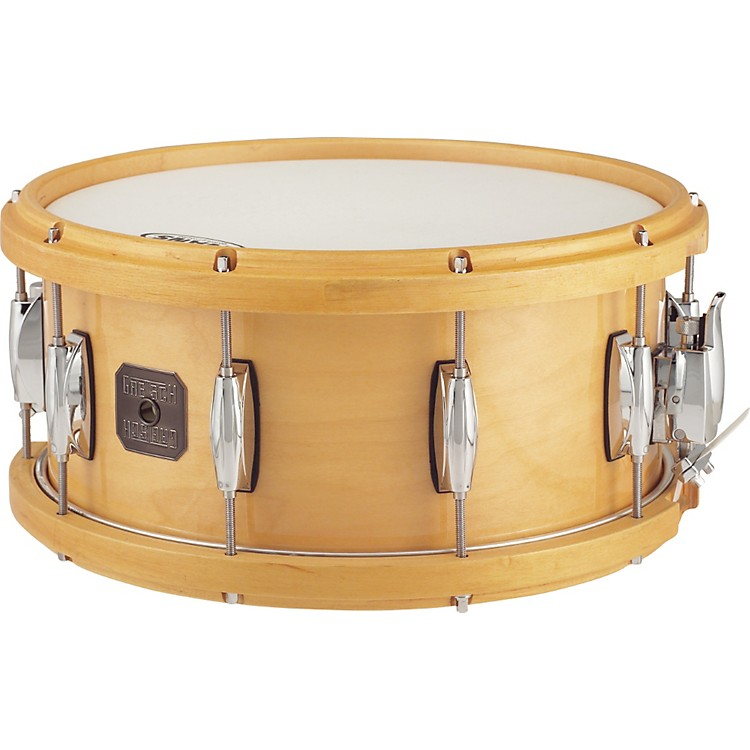 Gretsch Drums Full Range Maple Snare Drum with Wood Hoop