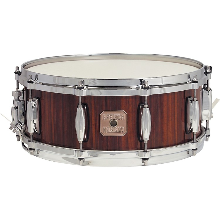 Gretsch Drums Full Range Rosewood Snare Drum 5.5 x 14 Natural