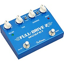 Open BoxFulltone Fulldrive2 MOSFET Overdrive/Clean Boost Guitar Effects Pedal