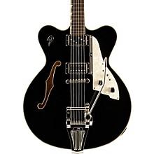 Fullerton Elite Semi-Hollow Electric Guitar Black