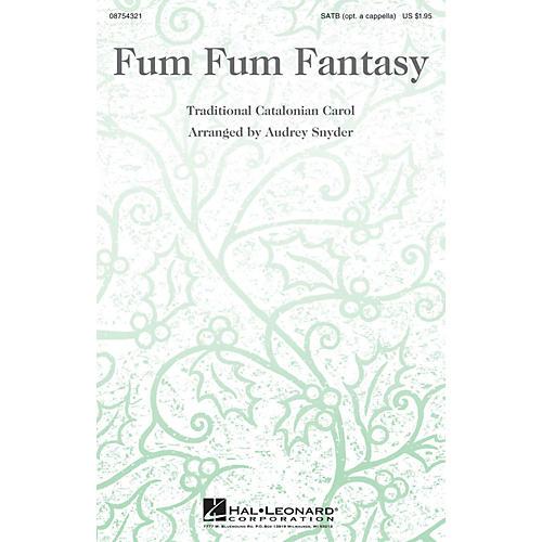 Hal Leonard Fum Fum Fantasy SATB arranged by Audrey Snyder-thumbnail
