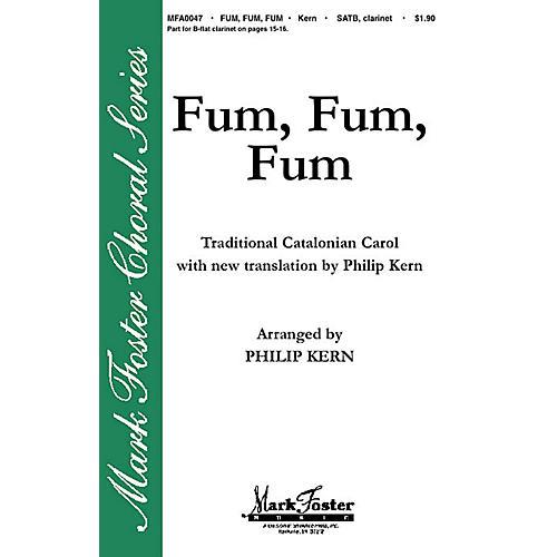 Shawnee Press Fum, Fum, Fum SATB arranged by Philip Kern-thumbnail
