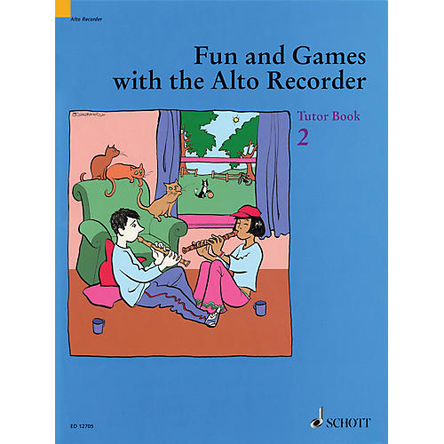 Schott Fun and Games with the Alto Recorder (Tutor Book 2) Schott Series-thumbnail