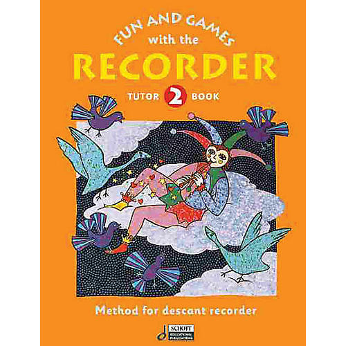 Schott Fun and Games with the Recorder (Descant Tune Book 2) Schott Series by Gerhard Engel-thumbnail