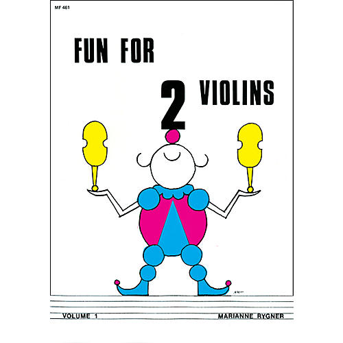 Alfred Fun for 2 Violins, Volume 1 Book-thumbnail