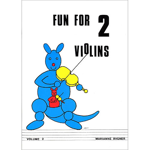 Alfred Fun for 2 Violins, Volume 2 Book