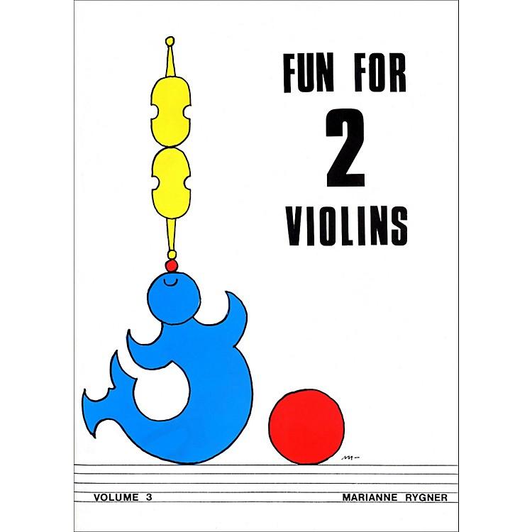 AlfredFun for 2 Violins, Volume 3 Book