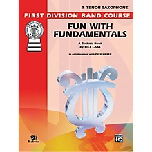 Alfred Fun with Fundamentals B-Flat Tenor Saxophone Book
