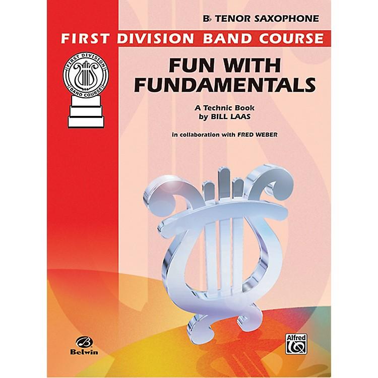 AlfredFun with Fundamentals B-Flat Tenor Saxophone Book
