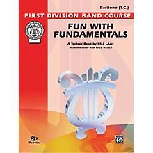Alfred Fun with Fundamentals Baritone (T.C.) Book