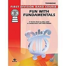 Alfred Fun with Fundamentals Trombone Book