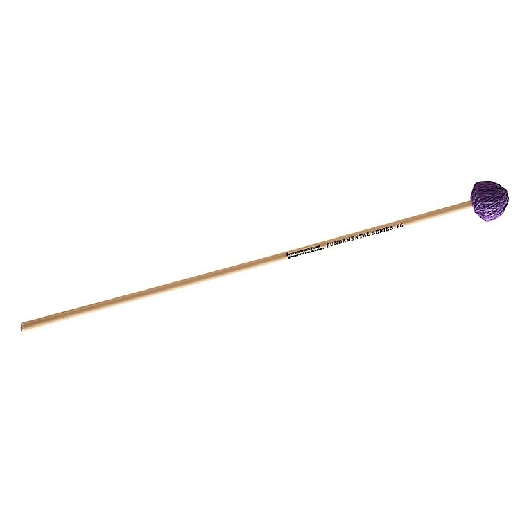 Innovative Percussion Fundamental Series Blue Cord Vibraphone Mallets Medium Rattan Handles