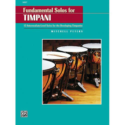 Alfred Fundamental Solos for Timpani