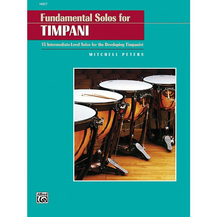 AlfredFundamental Solos for Timpani