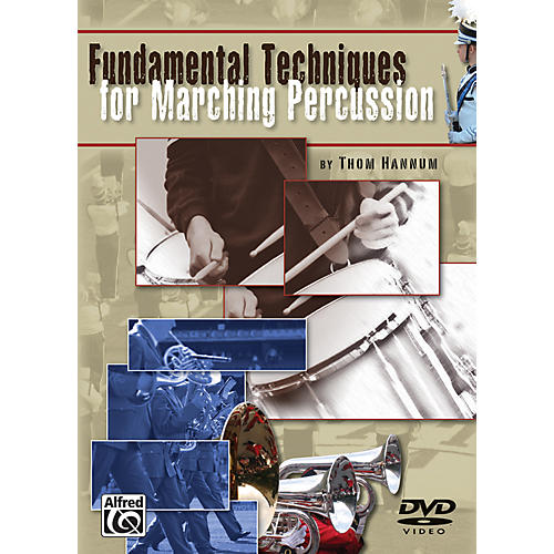 Alfred Fundamental Techniques for Marching Percussion DVD