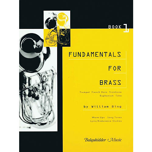 Carl Fischer Fundamentals for Brass, Book 1 Book