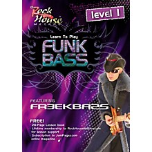 Hal Leonard Funk Bass Level 1 with Freekbass (DVD)