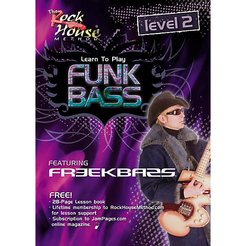 Hal Leonard Funk Bass Level 2 with Freekbass (DVD)-thumbnail