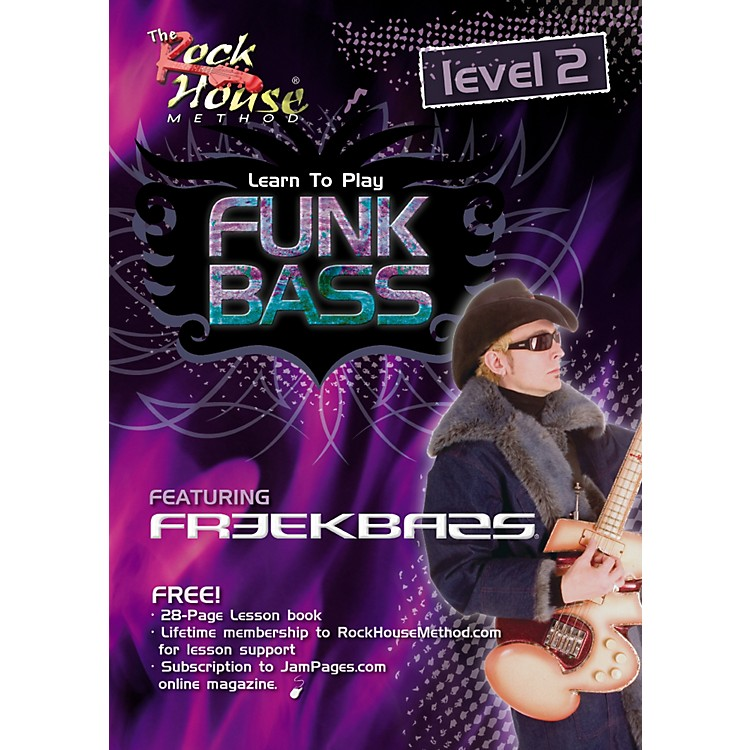 Rock House Funk Bass Level 2 with Freekbass (DVD)