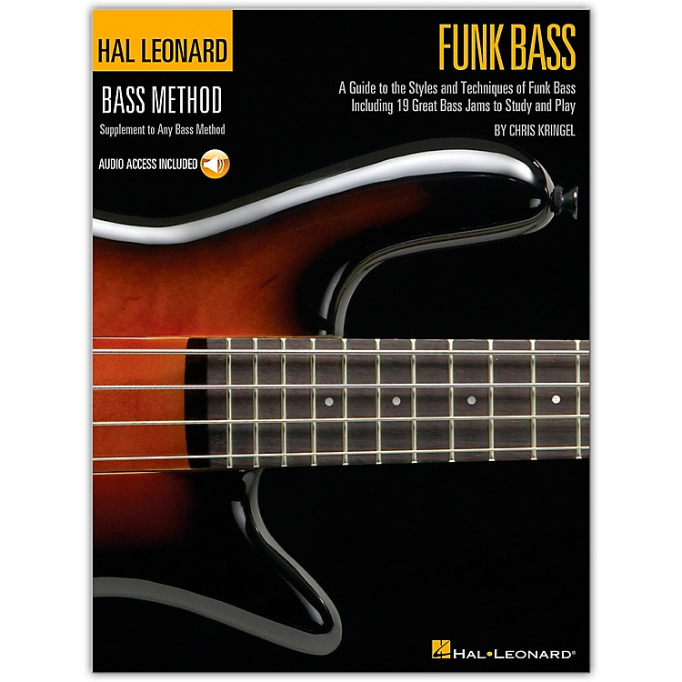 Hal Leonard Funk Bass Method Book & CD