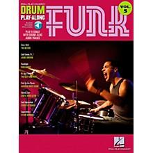 Hal Leonard Funk Drum Play-Along Volume 5 Songbook with CD