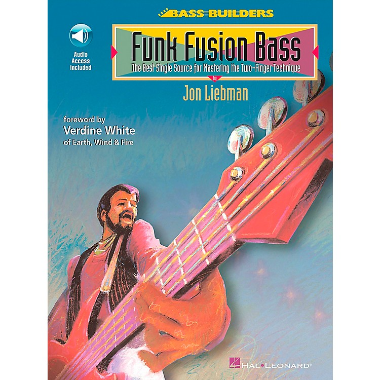 Hal Leonard Funk Fusion Bass Book/CD