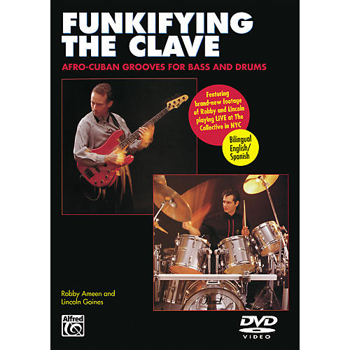Alfred Funkifying the Clave: Afro-Cuban Grooves for Bass and Drums DVD-thumbnail