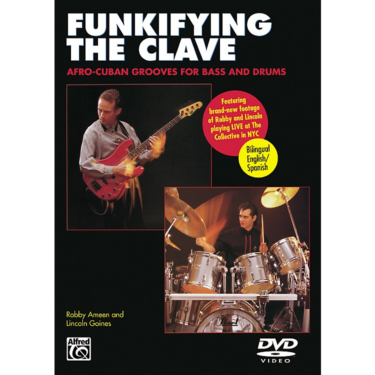 AlfredFunkifying the Clave: Afro-Cuban Grooves for Bass and Drums DVD
