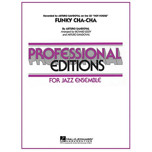 Hal Leonard Funky Cha-Cha Jazz Band Level 5 Arranged by Richard Eddy-thumbnail