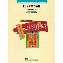 Hal Leonard Funkytown - Discovery Plus Band Level 2 arranged by Michael Brown