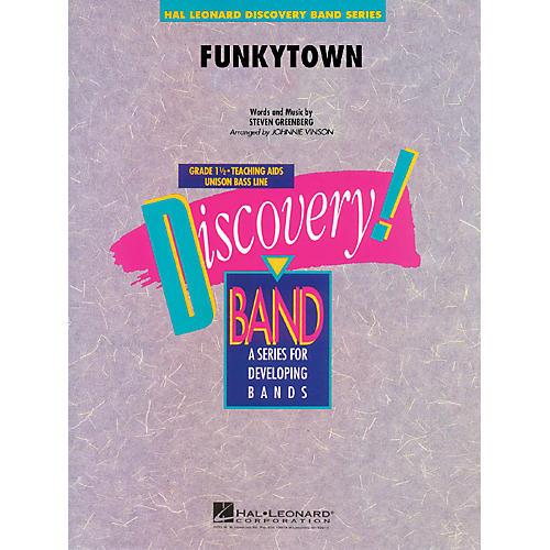 Hal Leonard Funkytown Concert Band Level 1.5 Arranged by Johnnie Vinson-thumbnail