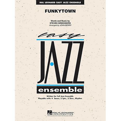 Hal Leonard Funkytown (from SHREK 2) Jazz Band Level 2 Arranged by John Berry-thumbnail