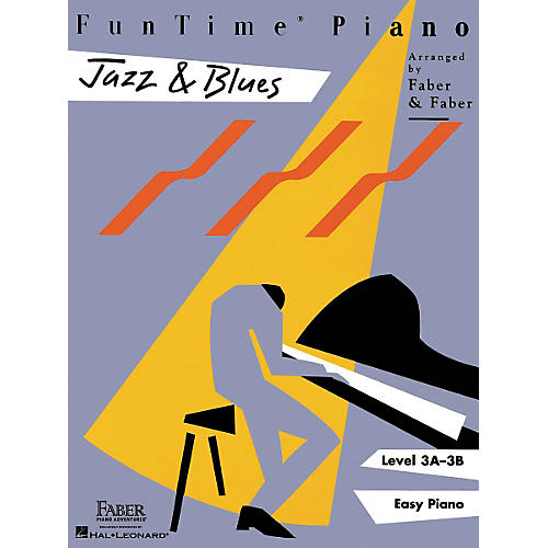 Faber Piano Adventures Funtime Jazz & Blues L3-thumbnail