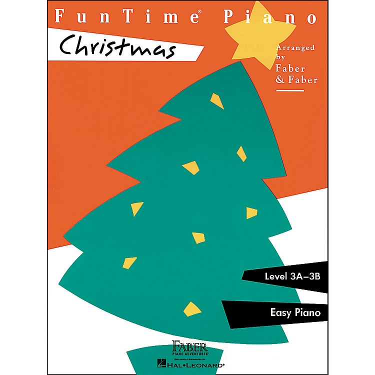 Faber Music Funtime Piano Christmas Level 3A-3B Easy Piano - Faber Piano